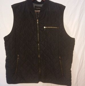 BANANA REPUBLIC reversible vest.size xxl